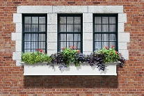 Yorkshire 6FT Window Box Planter - White